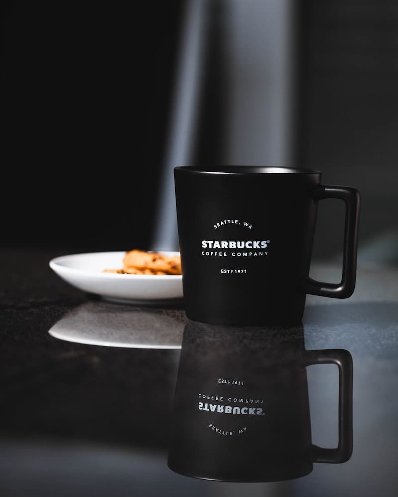 Starbucks coffee brand redesign process